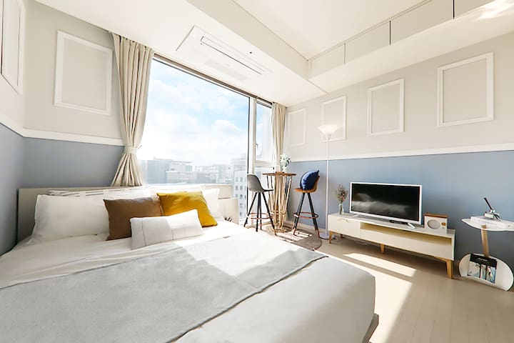 Amazing Location & View in Seoul 1min Gangnam Stn