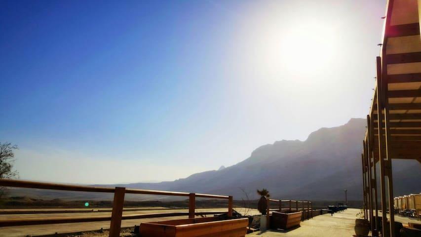 Ein Gedi Camp Lodge - Dead Sea (2) - Ein Gedi - Přírodní / eko chata