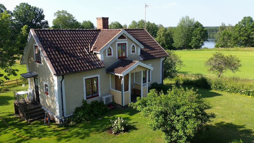 Holidayhouse lake Östra Lägern, Boat, WiFi, Pippi - Österbymo, Ydre - Talo