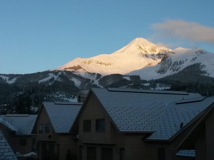 Ski-in Ski-Out Condo in Big Sky Mountain Village