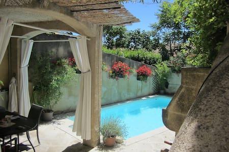 Luberon charming village house with pool - Mérindol - Huis