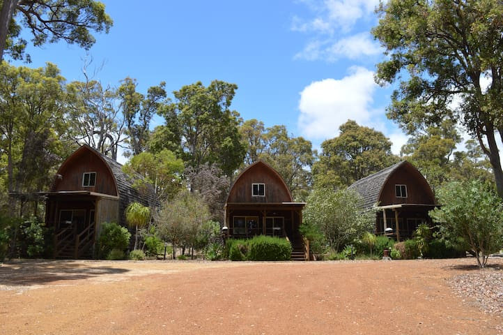 Farm Stay.  3 x Cedar Loft Cabins