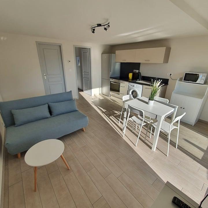 Appartement T1 BIS neuf à la campagne et au calme