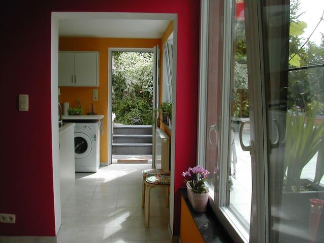 Loft côté jardin frais et chatoyant - Pont-à-Celles