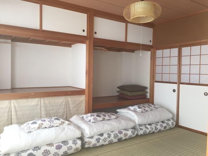 Hostel291[女性専用]和室ドミトリー,Fukui,echizen-city,takefu