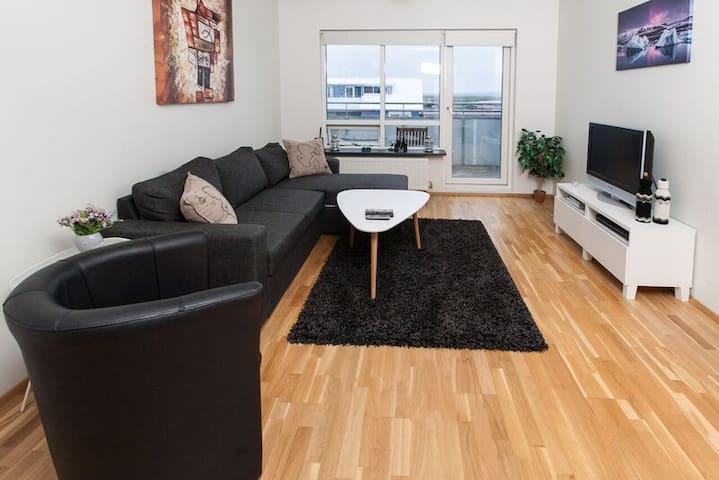 Spacious comfortable apartmet,with beautiful views - Selfoss - Apartament