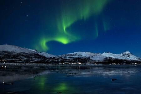 Stor hytte til leie 45 minutter fra Tromsø - Andersdal - Kabin