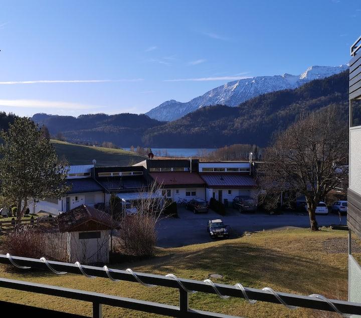 Ferienwohnung mit Blick auf den Weißensee-Füssen