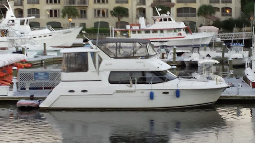 Comfortable 40ft Carver Motor Yacht