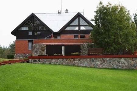 Дом для загородного отдыха на Карельском перешейке