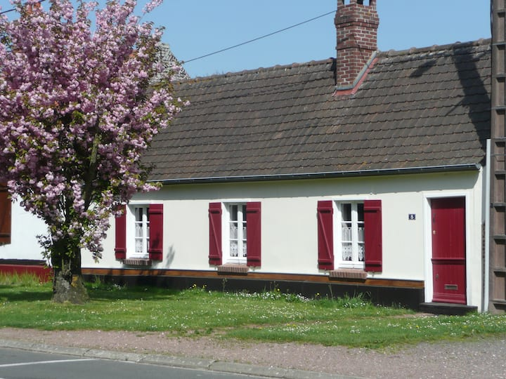Rose Cottage en Baie de Somme