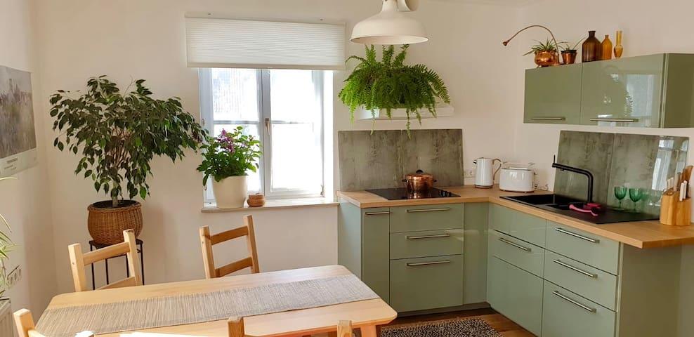 "Urlaub im ""Into the Green"" Apartment"