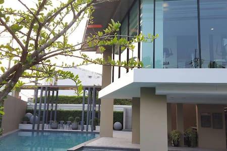 Cozy 1 BD, Near beach, Free Hi-speed Wifi - Nong Kae - Huoneisto
