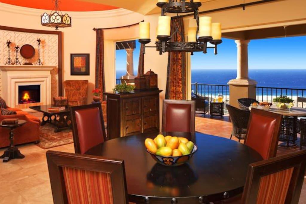 Dinning and Livig room