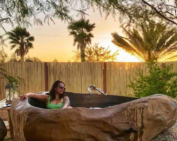 *Private Hot Springs* Ocotillo House