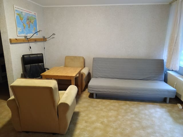 Shared cosy apartment with WiFi near park