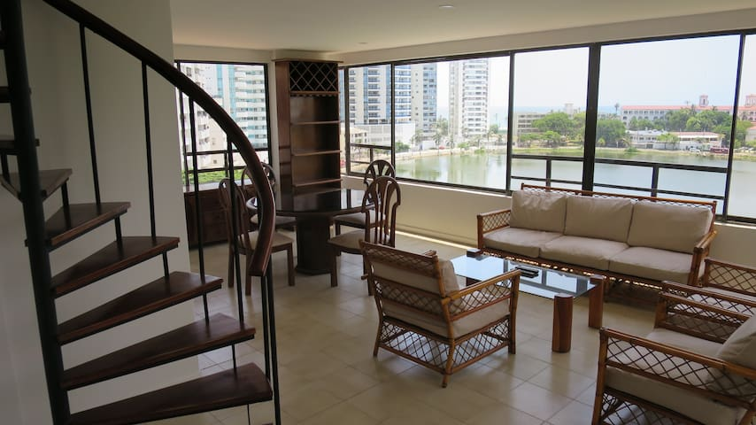180° SEA VIEW DUPLEX - Cartagena - Apartamento