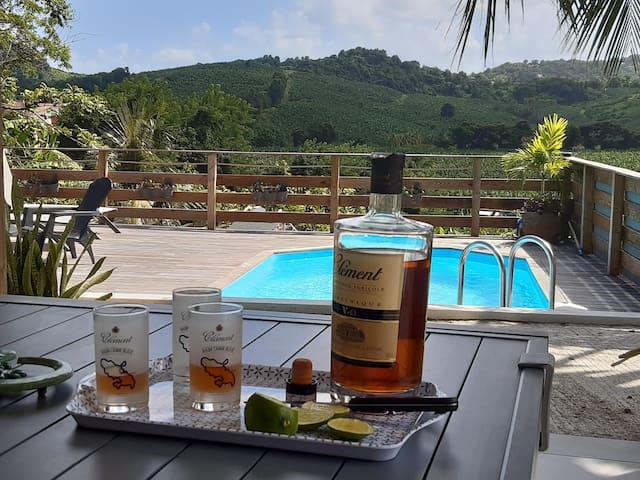 Villa KAZATOM au coeur de la Martinique