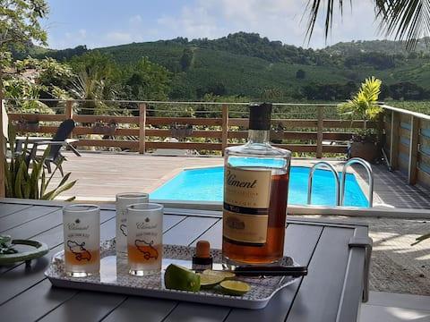 Villa in the heart of Martinique