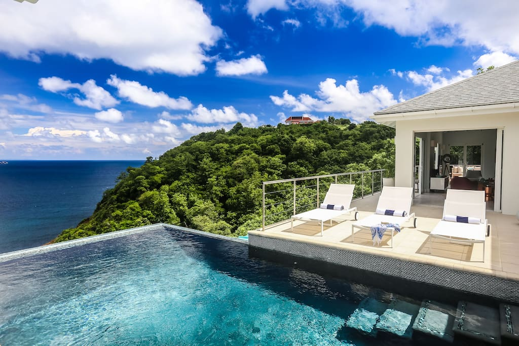 Gorgeous villa with the best views in St Lucia