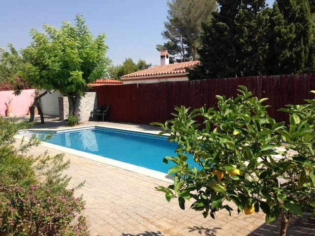 Architect designed property, large private pool - El Catllar - Daire