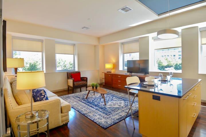 ⁂ Zen Downtown Dallas luxury Apartment⁂