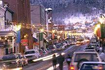 Main Street night life
