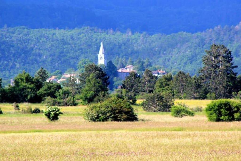 Lokev - traditional Karst Village