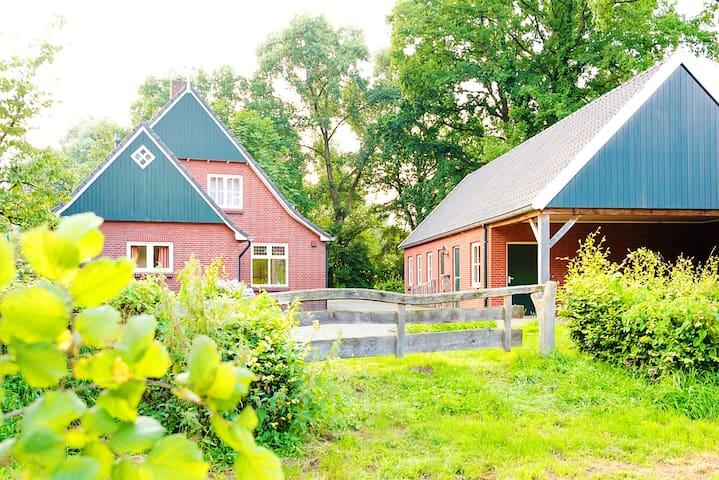 Royale vrijstaande vakantiewoning in Twente