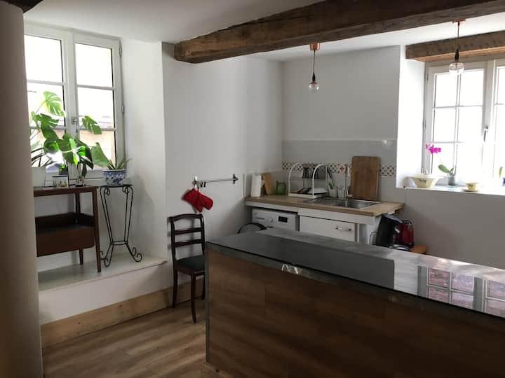 Joli studio dans une ancienne pâtisserie 60m².