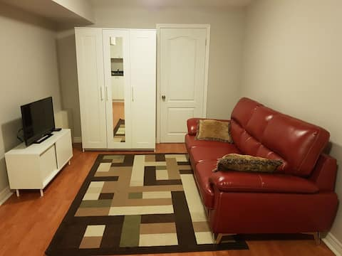 Beautiful PRIVATE Cozy 1Bedroom Basement(DISCOUNT)