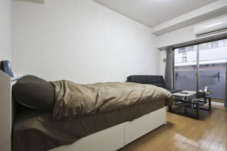 Tokyo  4min→STA down comforter 4pax - Minato-ku - Apartment