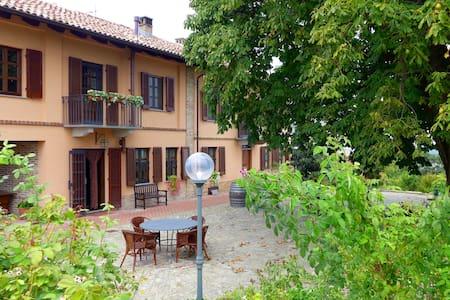 Cascina del Rosone, Apartment Monviso - Agliano
