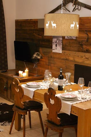 App. Mountain Spirit, parchegg.incl - San Candido - Pis