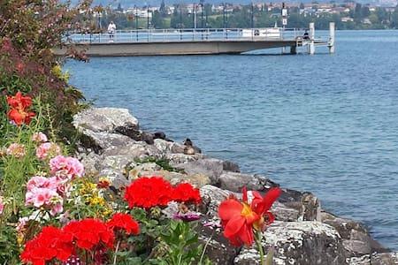 Magnifique appartement de standing au bord du lac - Morges