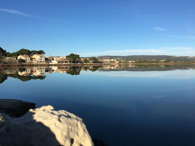 Joli Appartement proche Narbonne et étang