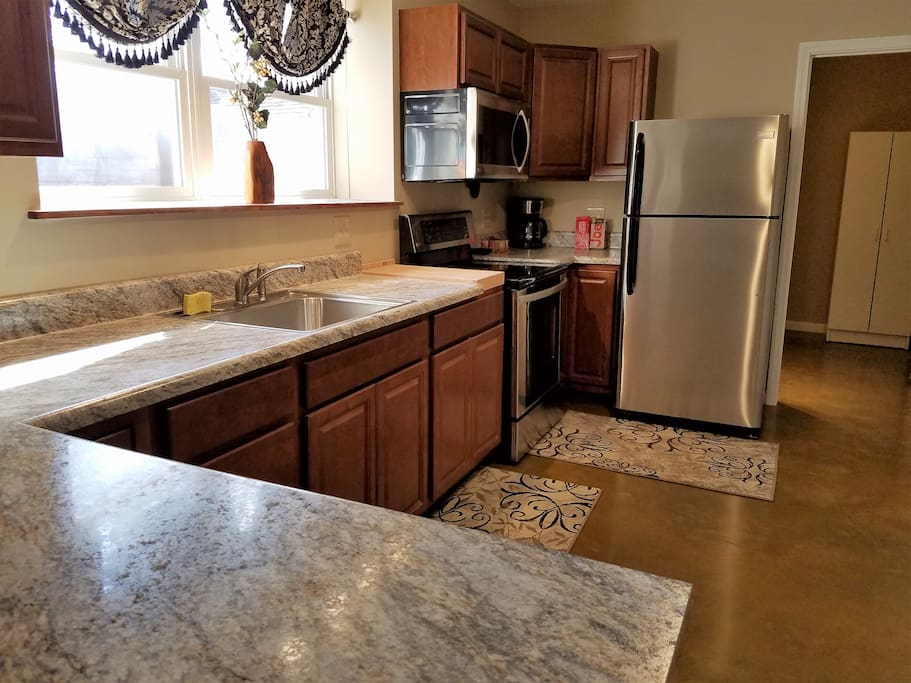 New Kitchen and new appliances