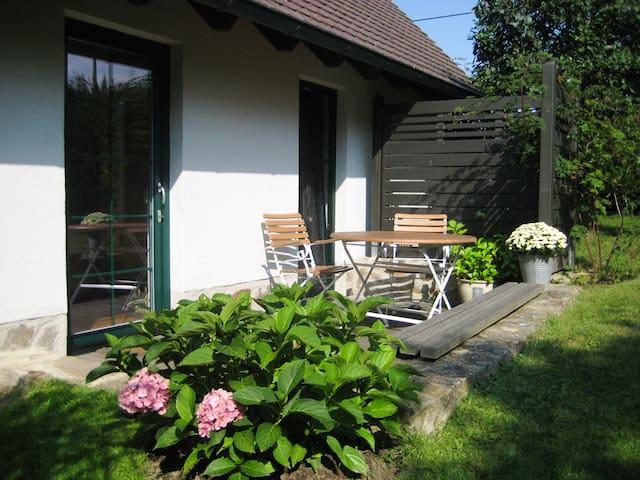 Landpension Bocka (Windischleuba/OT Bocka) - LOH06556, Doppelzimmer mit Terrasse, Dusche und WC