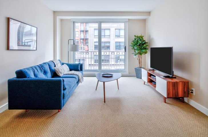 Pet-Friendly 1BR in Washington DC, Near Metro