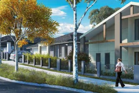 Nice modern private doubleroom in new house Sydney - Campbelltown - Talo