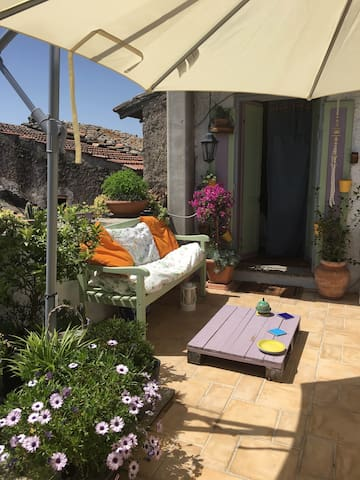 Characteristic house with terrace - Calcata Vecchia - Appartement