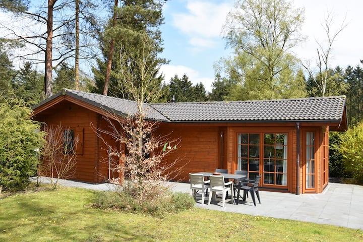 Prachtige Finse bungalow in Beekbergen