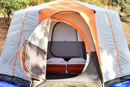 Bombay Camping Co. Luxury Tents at Pawna Lake