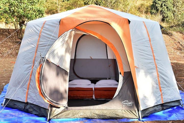 Bombay Camping Co. Luxury Tents at Pawna Lake