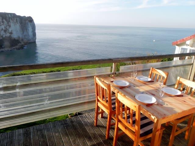 Normandie Cottage romantique en bord de mer - Vattetot-sur-Mer - Huis