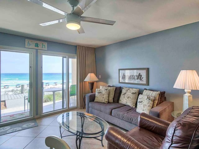 Ground Floor Destin Beach Condo Directly on Sand!