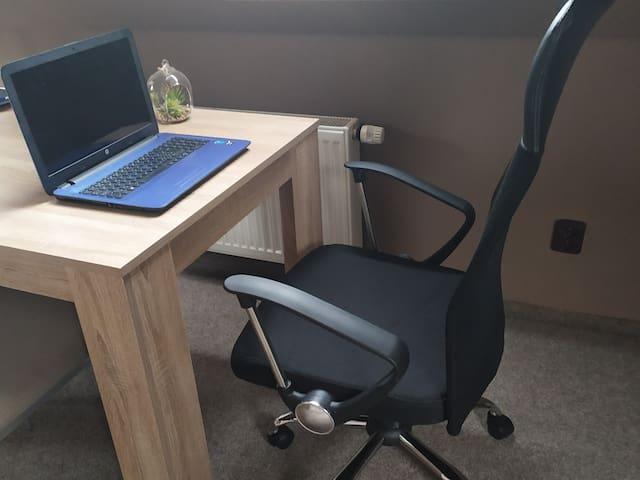 Apartmán 2kk vhodný na ubytování i k práci