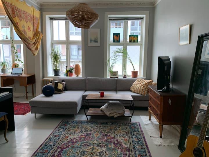 Ledig rom i nydelig, sentral leilighet fra 1880