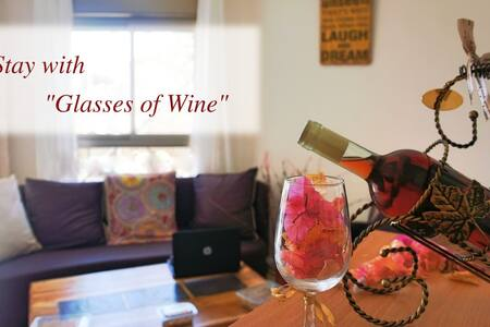 """Glasses of Wine"" B&B on Israel's Coral Reef!  WOW - Eilat"