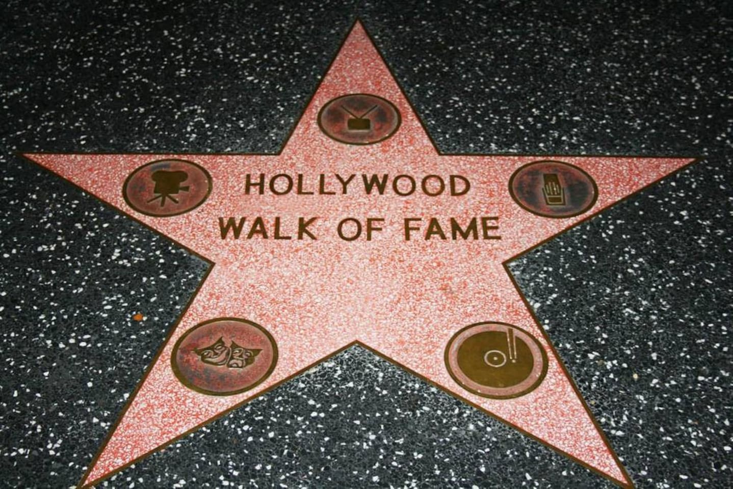Just 19 miles to the Hollywood  Walk of Fame.